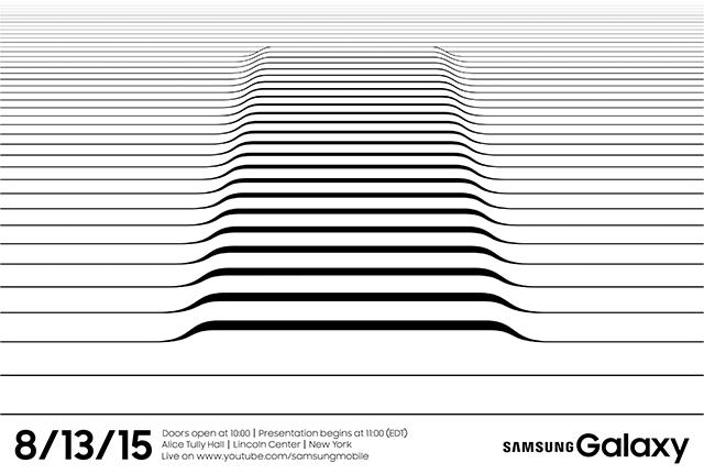 Invitación Samsung Unpacked 2015 Galaxy Note 5