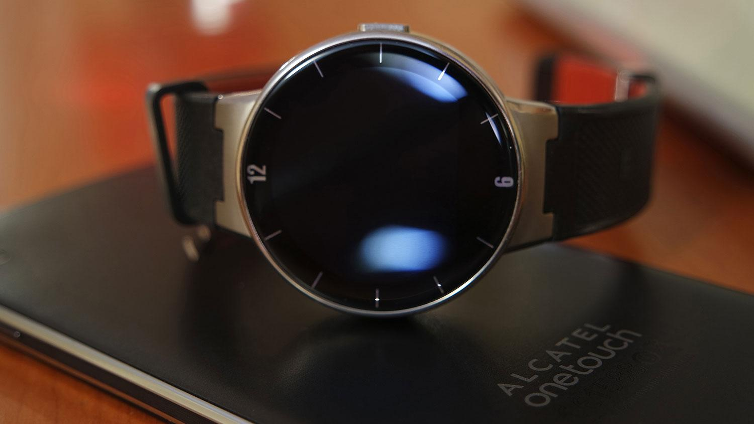Alcatel Watch detalle de la esfera