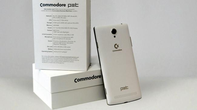 Commodore PET smartphone.