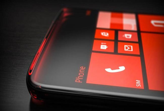 Smartphone Microsoft Lumia con Windows Phone