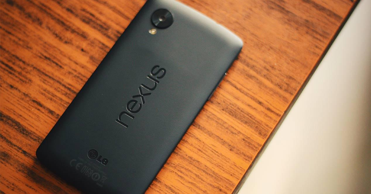 Nexus 5 de color negro
