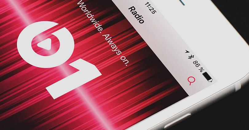 Radio Beats 1 en Android.
