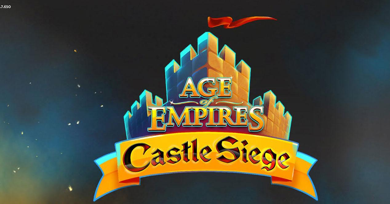 Age of empires Castle Siege para iOS