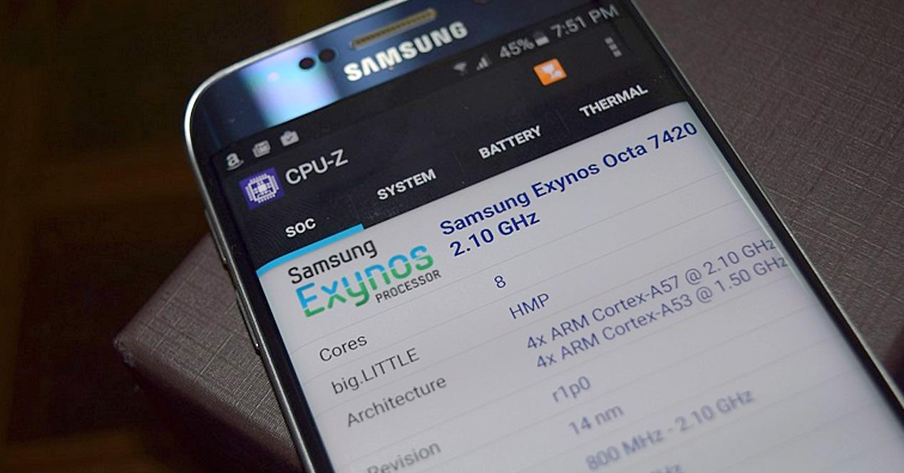 Galaxy Note 5 benchmarks en Geekbench.