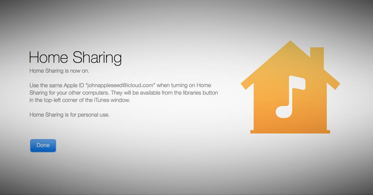 iOS 8.4 Home Sharing.