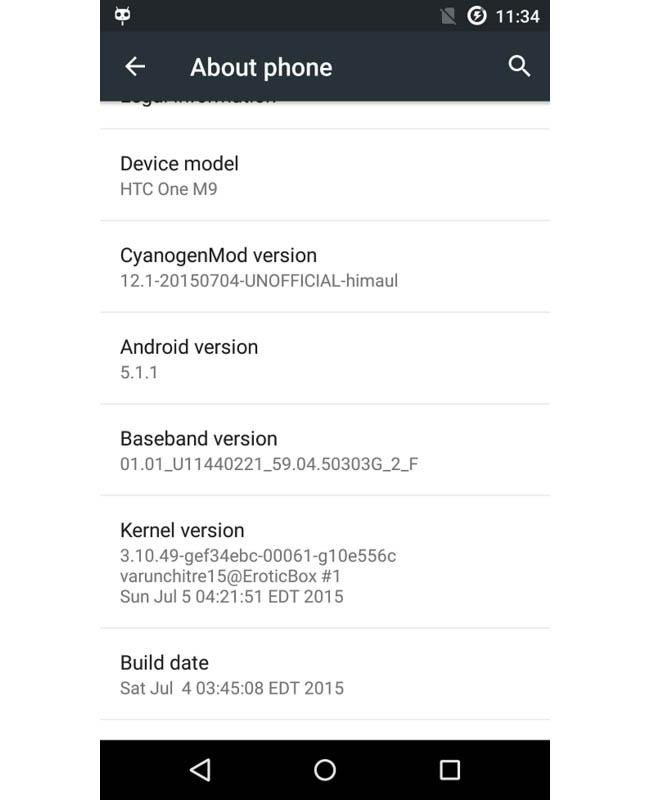 how to detect htc one m9 with no rom