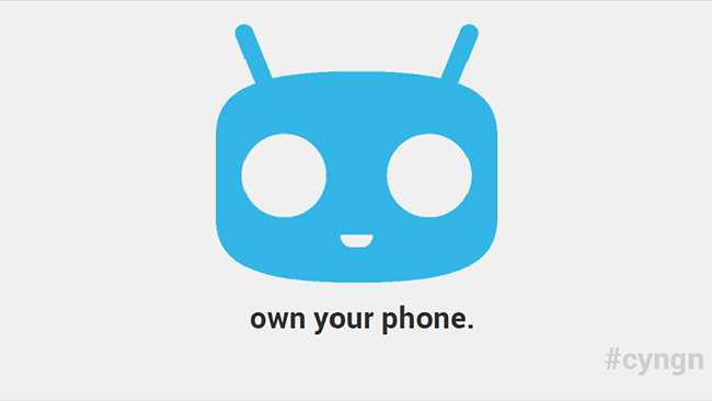 CyanogenMod own your phone