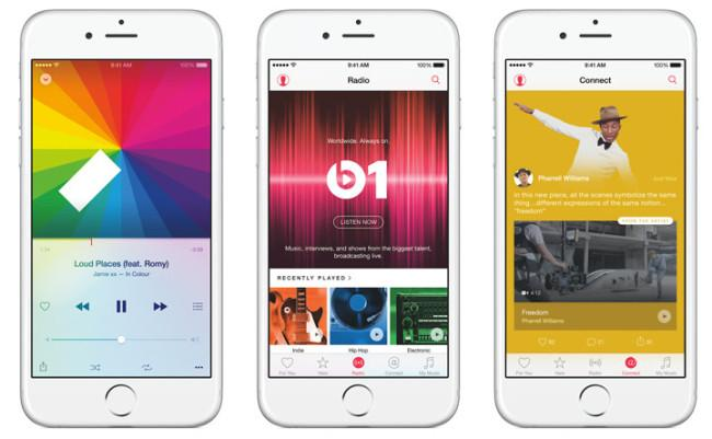 Apple Music en iOS 8.4.1