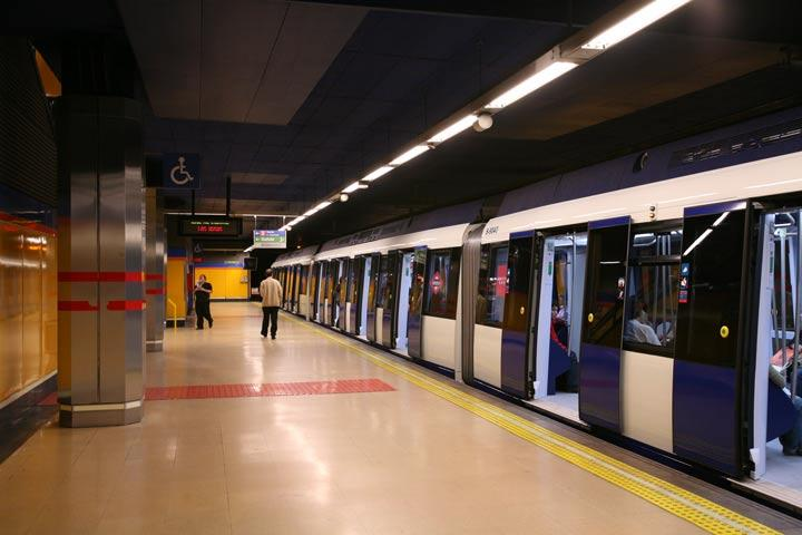 estación de metro de madrid