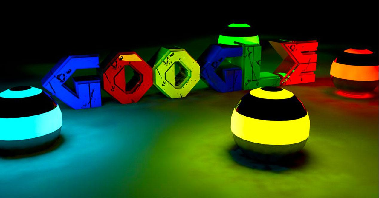 Logotipo de Google en colores