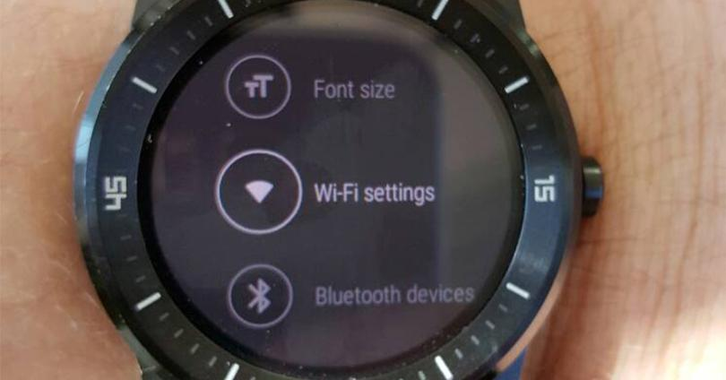 LG G Watch R con WiFi