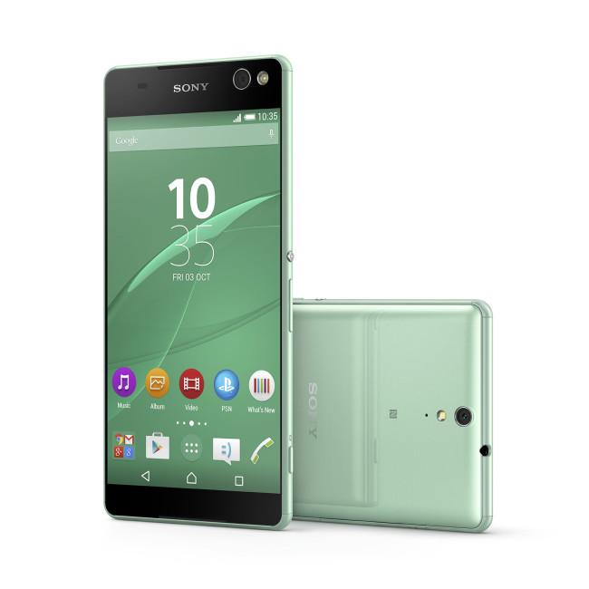 Sony Xperia M5 en color verde