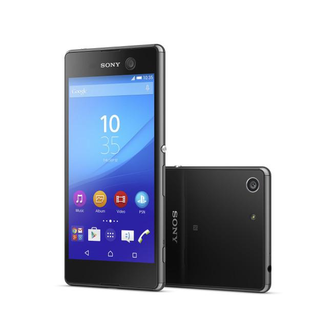 Sony Xperia M5 en color negro