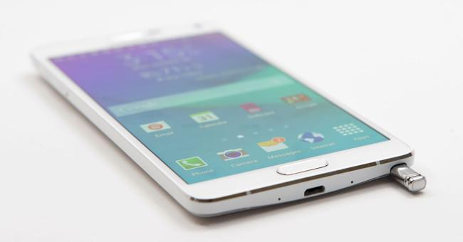 Samsung galaxy Note 4 desenfoque