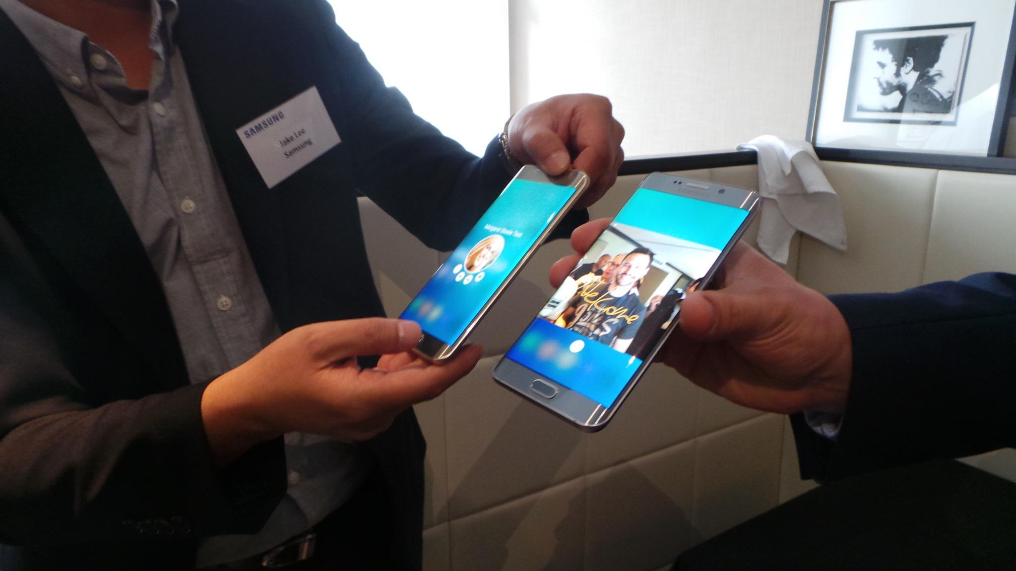 Samsung Galaxy  S6 Edge Plus frente al Galaxy s6 edge