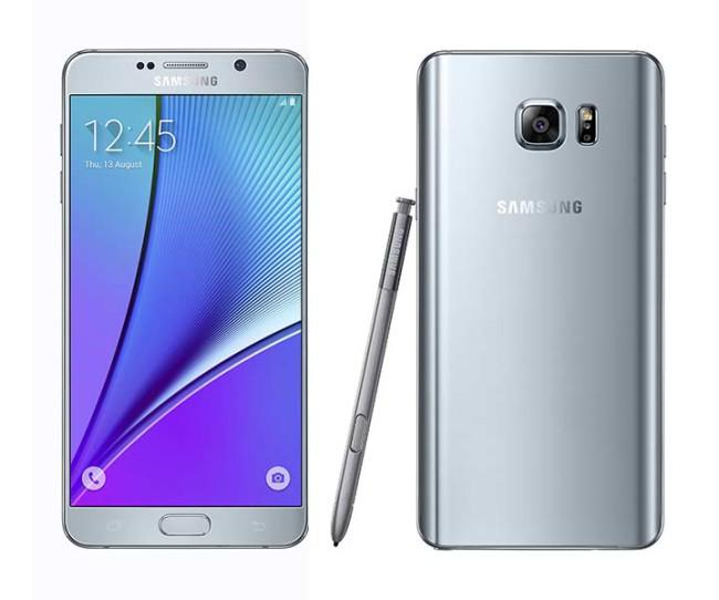 Samsung Galaxy Note 5 en color gris