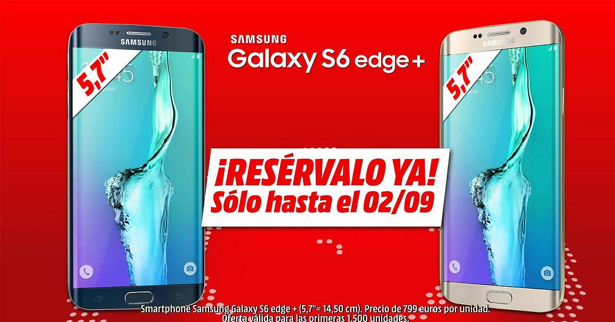 Samsung Galaxy S6 Edge Plus en Media Markt
