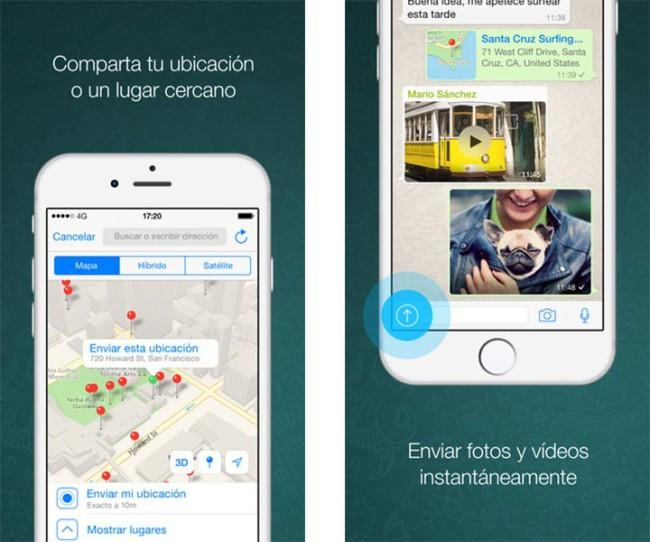 App de WhatsApp para iPhone