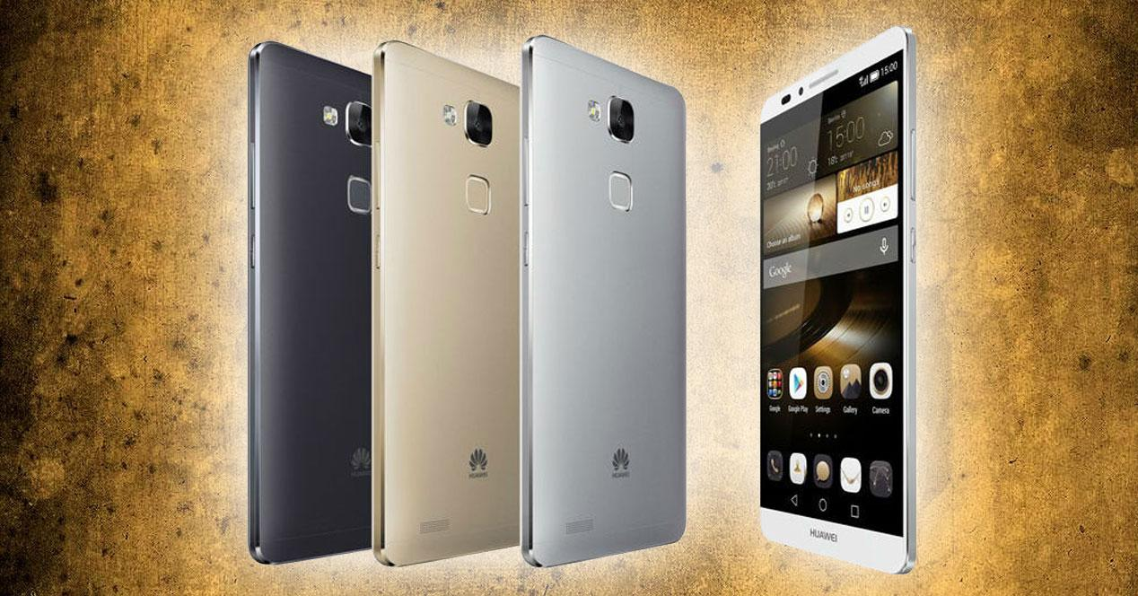 Huawei Ascend Mate 7 colores