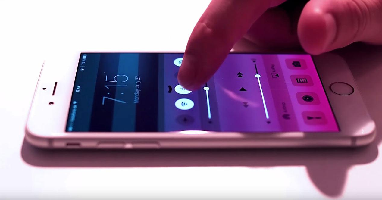 Pantalla del iPhone 6s con tecnología Force Touch