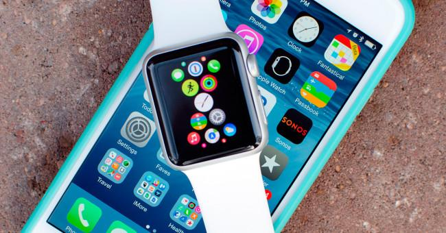 Apple Watch e iPhone 6s.
