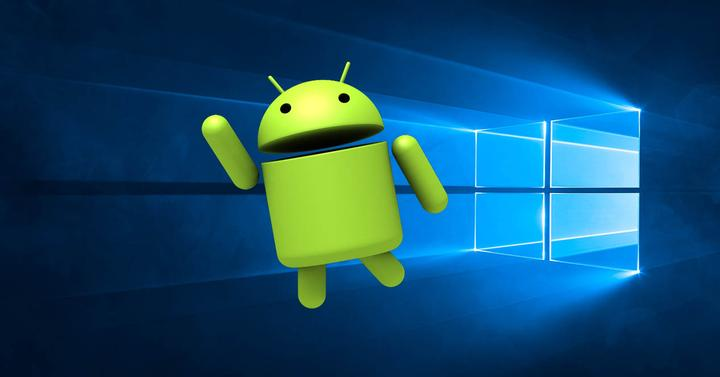 Windows 10 android portada