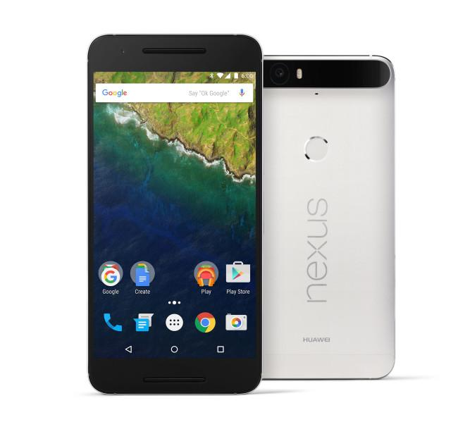 Nexus 6P en color blanco