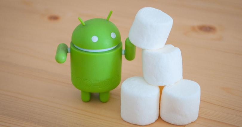Android con marsmallows
