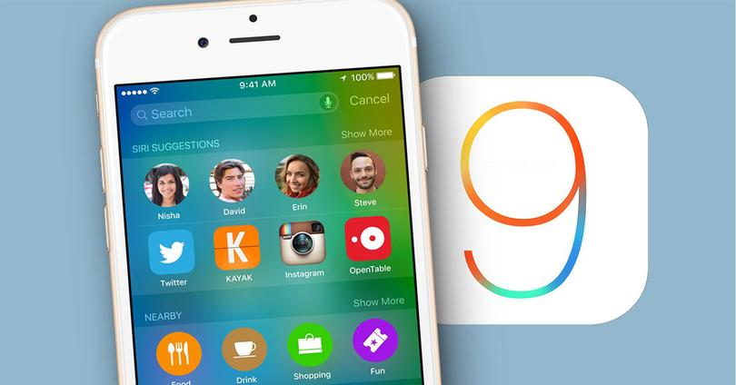 Software iOS 9