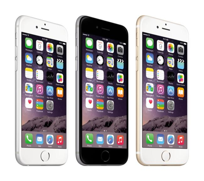Colores del iPhone 6 Plus