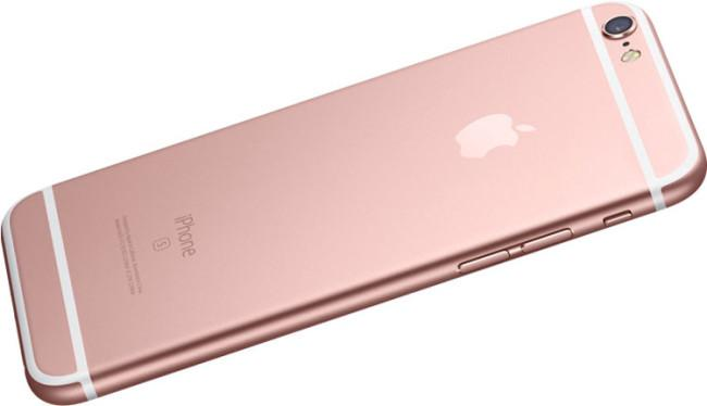 iPhone 6s en color oro rosa
