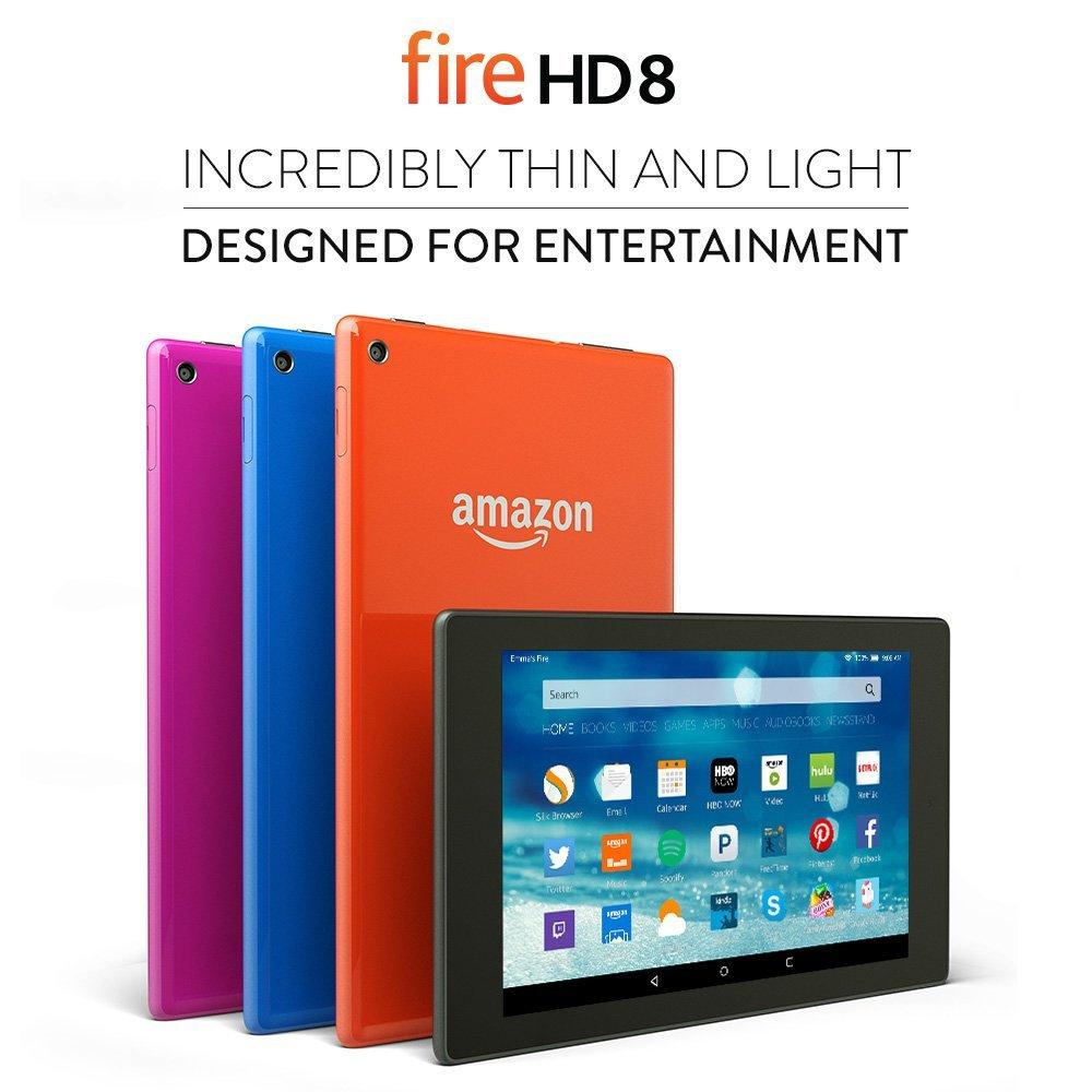Kindle Fire HD8 modelos