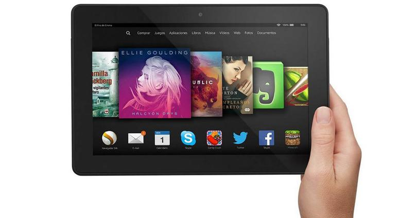Kindle Fire portada