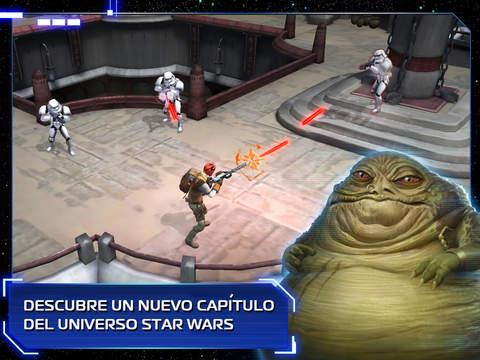 Star Wars Uprising pantalla
