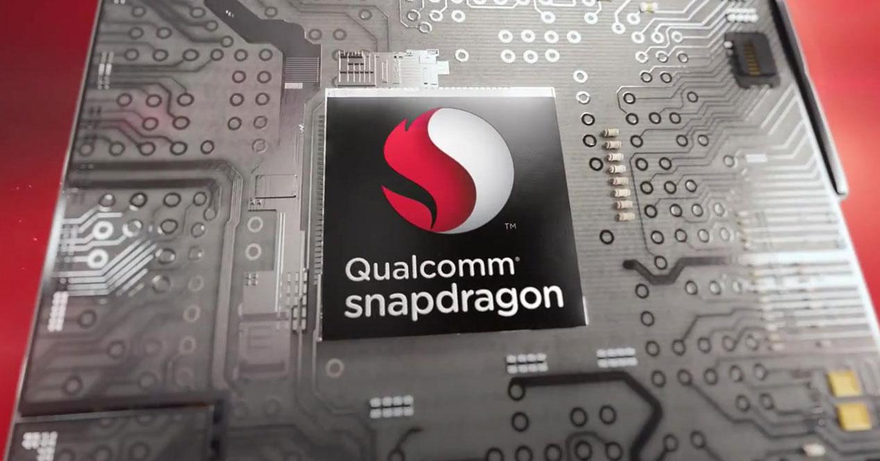 Snapdragon chip on board