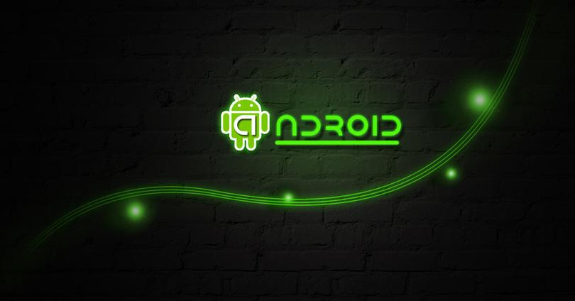 Logo Android verde