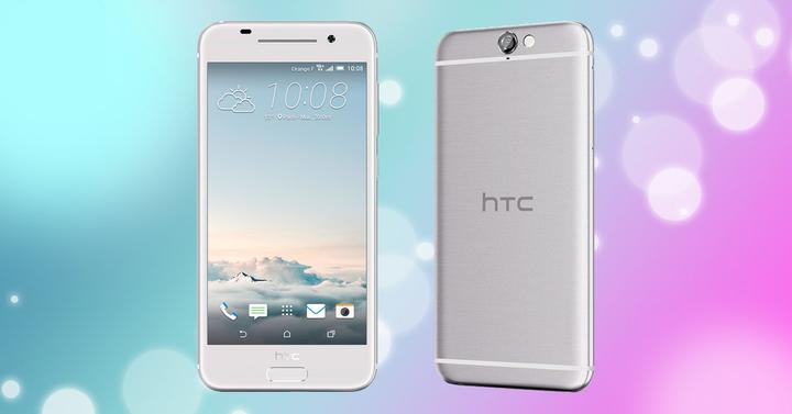 HTC One A9 plateado