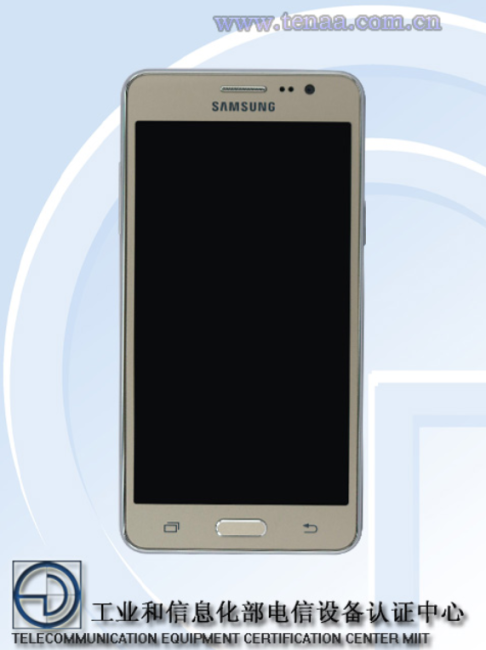 Imagen frontal del Samsung® Galaxy™ Grand On