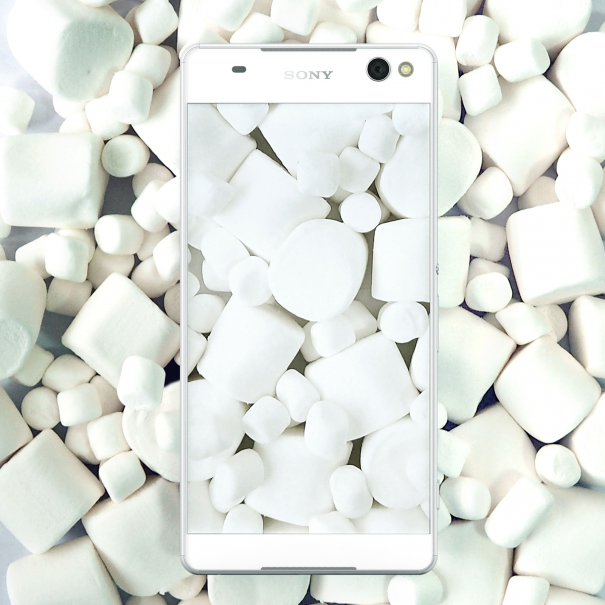 Sony Xperia Z5 blanco con Marsmallows