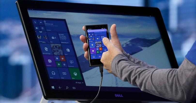 Continuum en Lumia con Windows 10