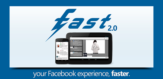 Fast for Facebook Google® Play