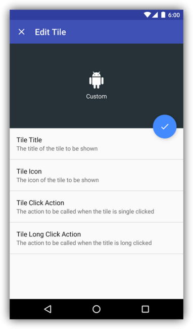 Custom Quick Settings para Android 6.0 Marshmallow 2