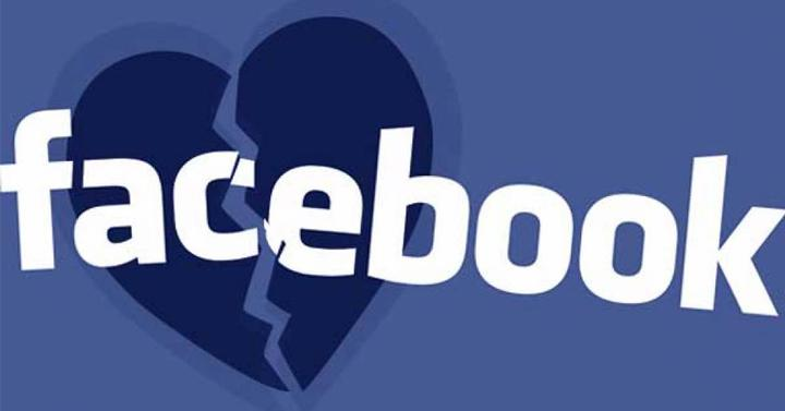 Logo de Facebook corazon