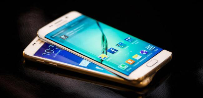TouchWiz en el Samsung® Galaxy™ S6 Edge Plus