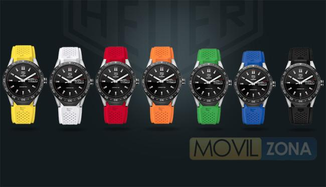 Colores disponibles del TAG Heuer Connected