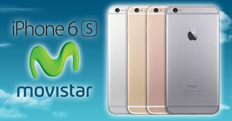 iPhone 6s con logo Movistar