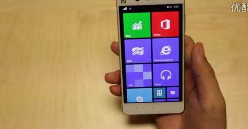 Windows 10 Mobile xiaomi