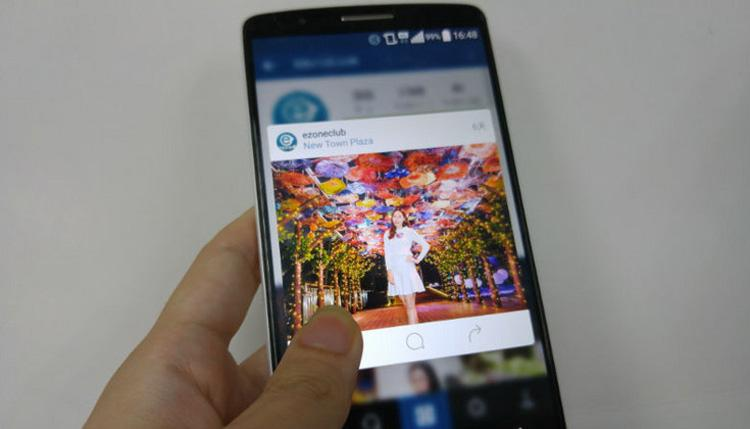 Instagram para Android con efecto 3D Touch
