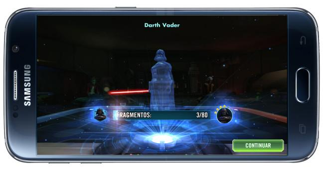 Personajes en Star Wars: Galaxy of Heroes