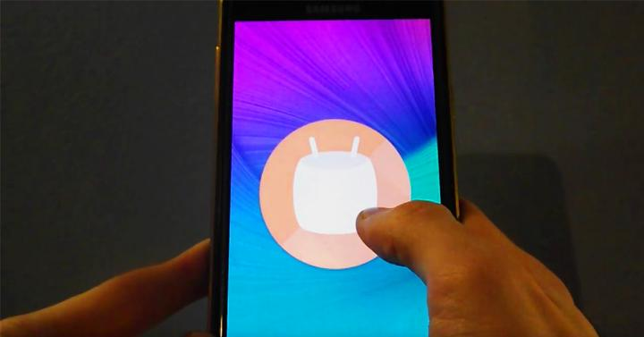 Samsung Galaxy Note 4 con Android 6.0